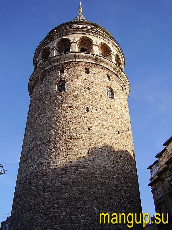 Галатская башня в Стамбуле.