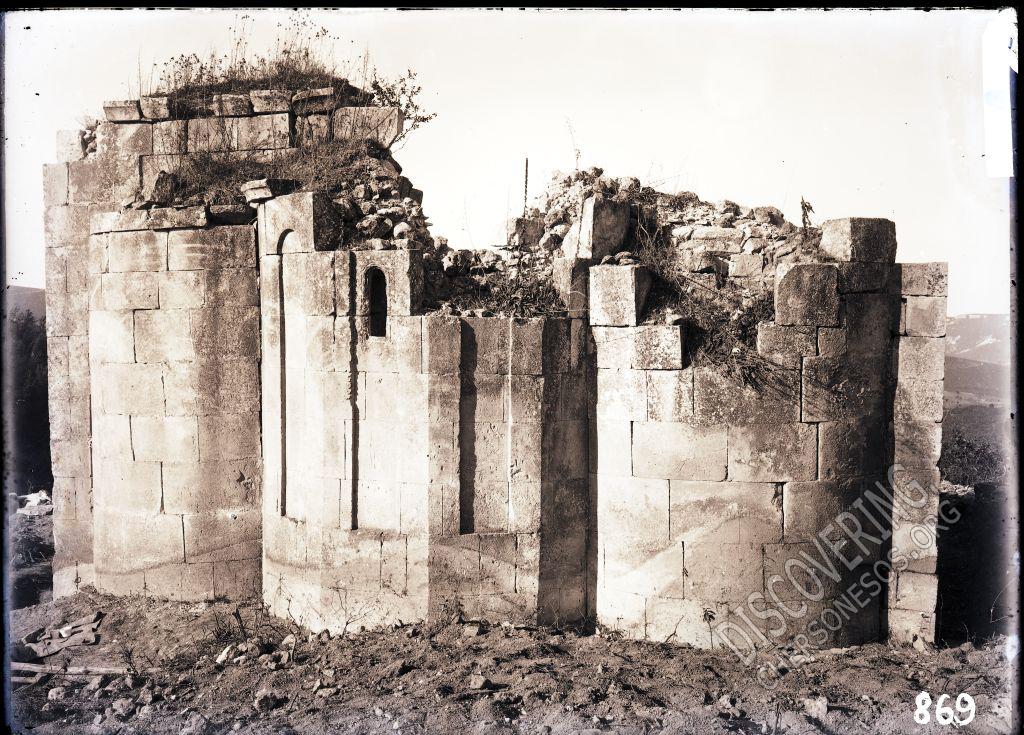 Храм св. Троицы в Керменчике. Апсиды храма снаружи.