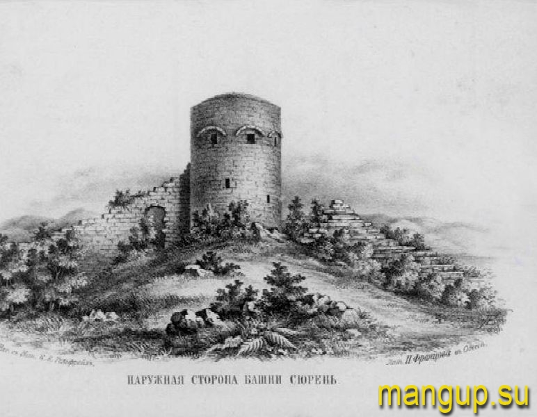Наружная сторона башни Сюйрень.