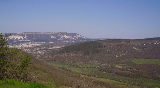 Пампук-Кая. Вид с вершины.