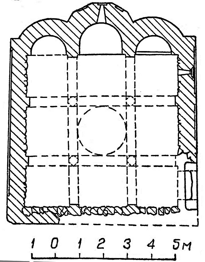 План храма св. Троицы.