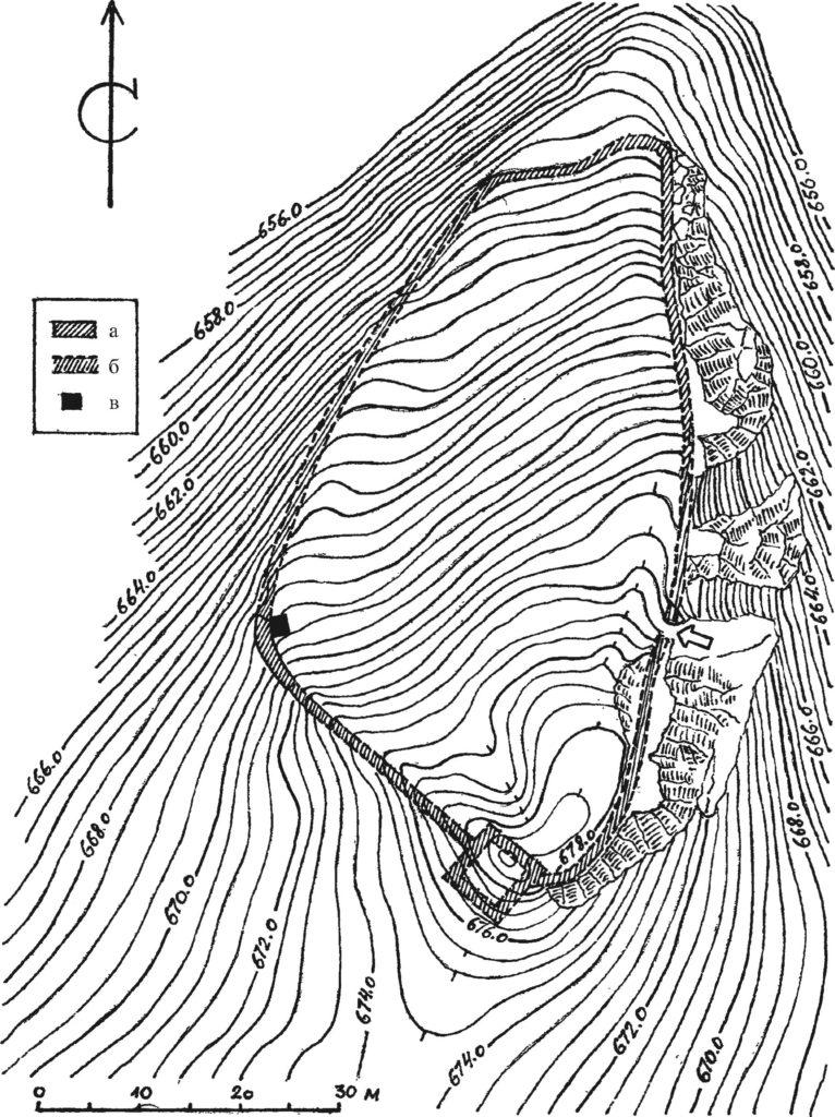 План Керменчика XV в. [Мыц, 2009, рис. 89].