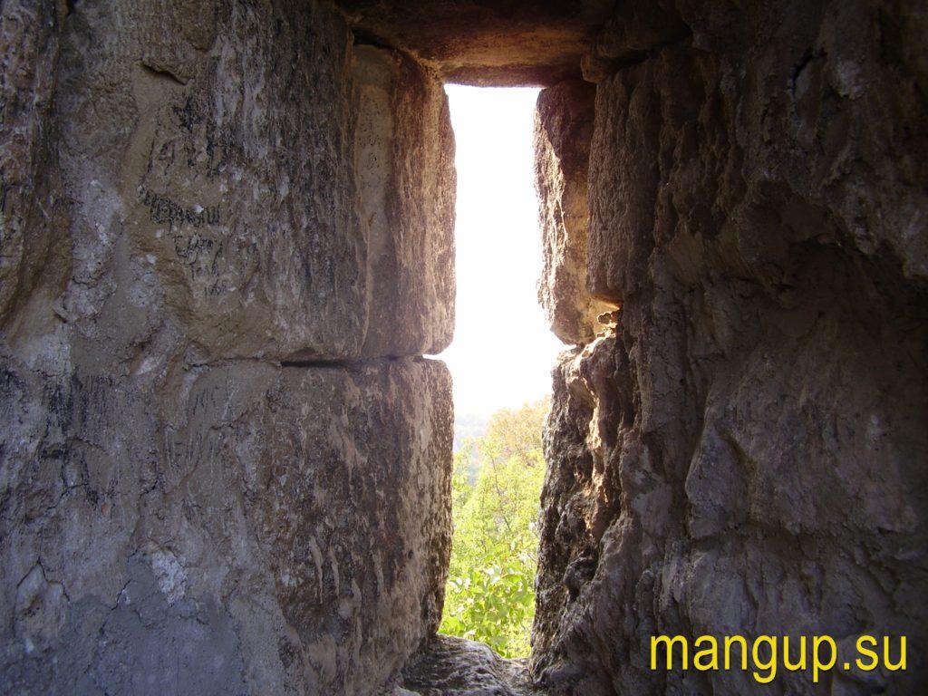 Сюйреньская крепость. Амбразура.