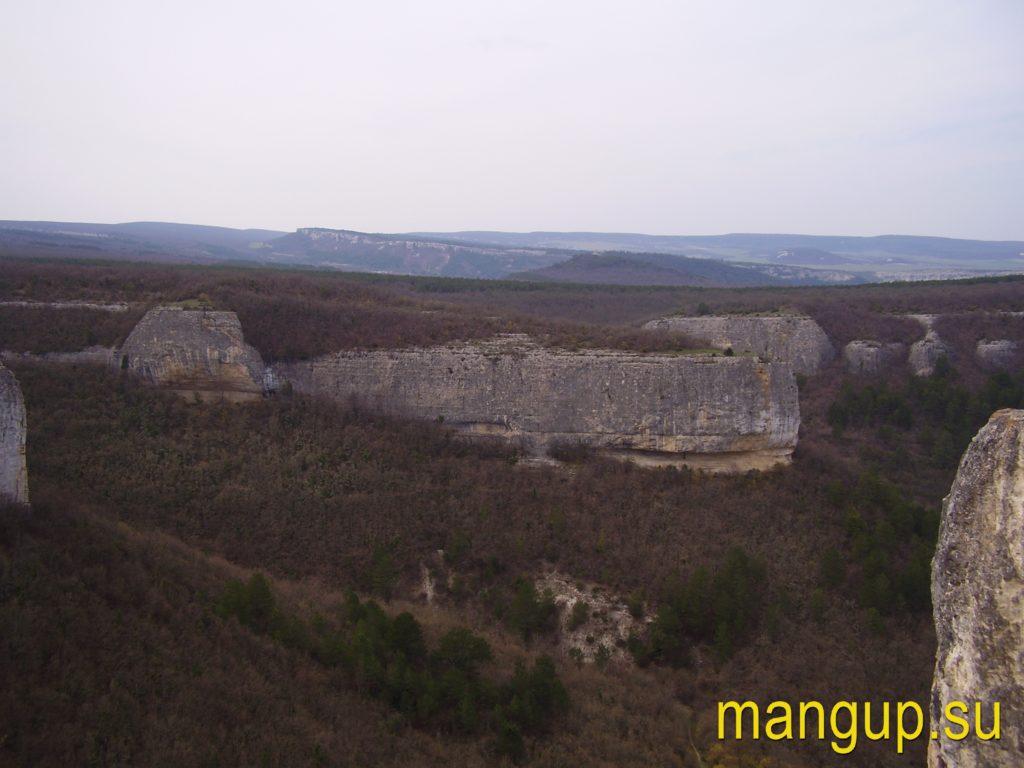 Сюйреньская крепость. Вид с мыса Куле-Бурун.