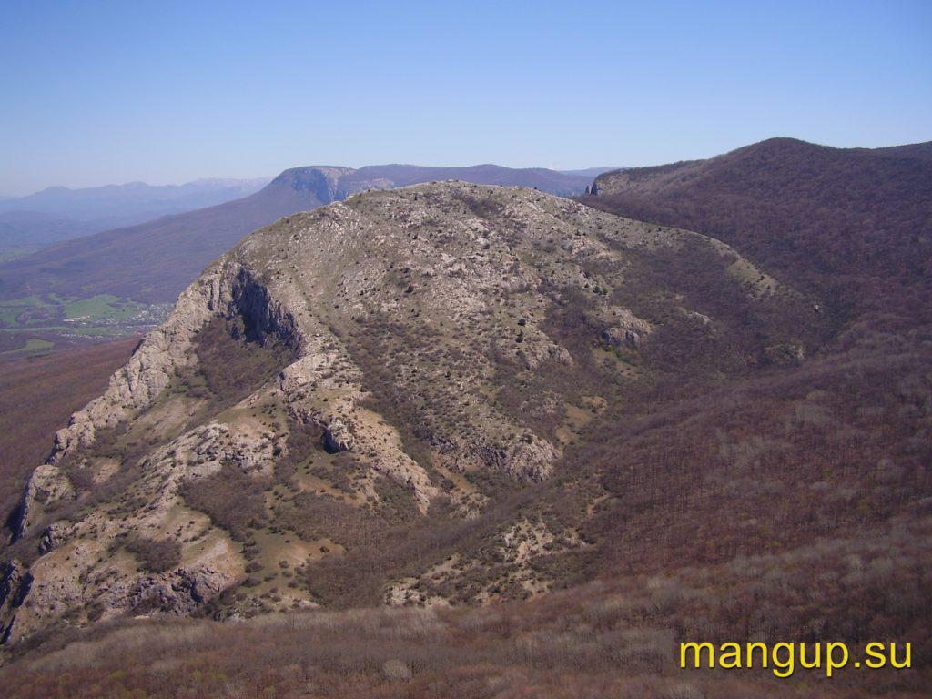 Вид с вершины Сандык-Кая.