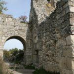 Ворота мангупской цитадели.