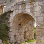 Мангуп. Ворота в цитадель, вид изнутри.