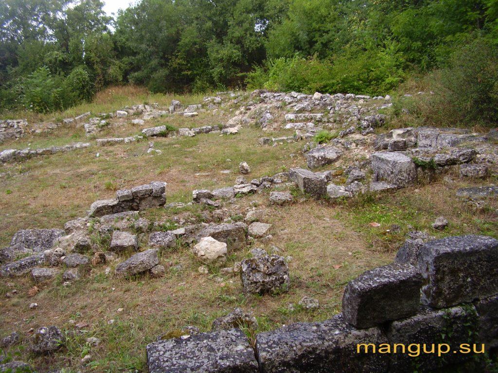Мангуп. Большая базилика, современное состояние
