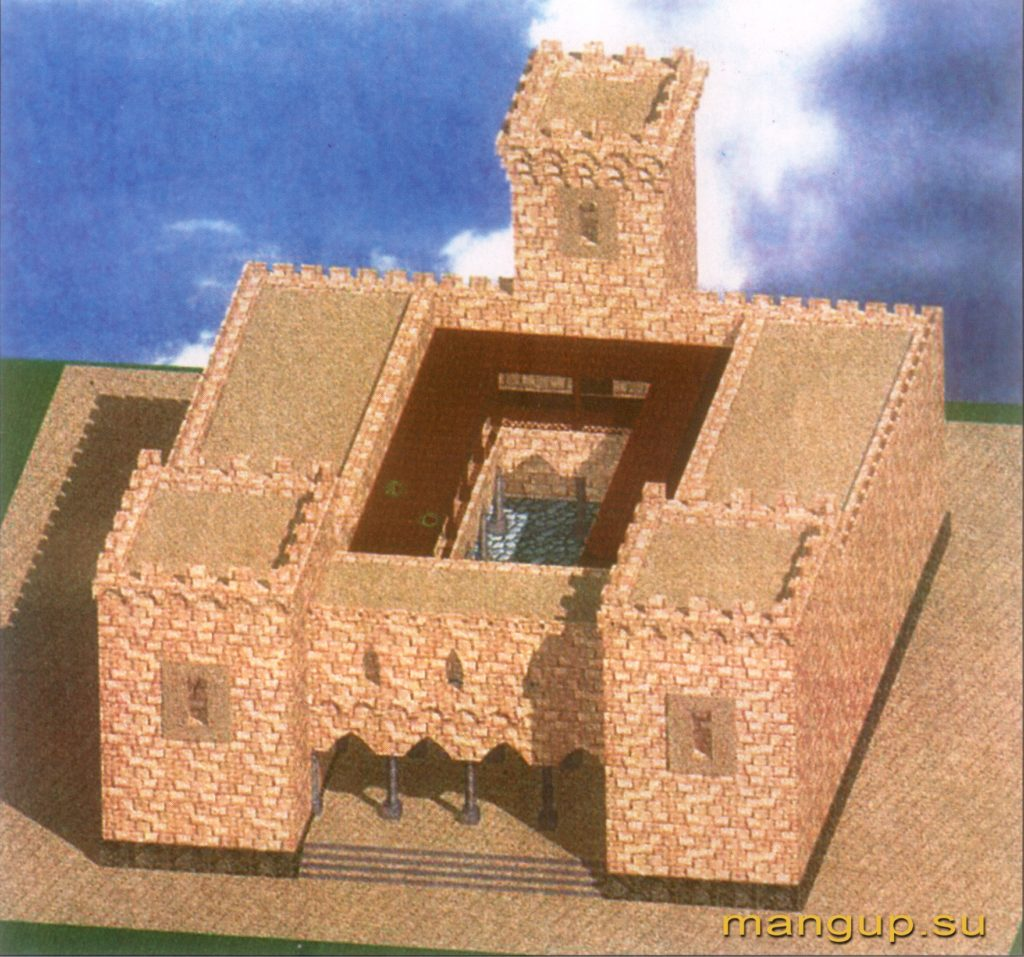Дворец правителей Феодоро.
