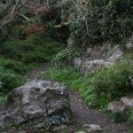 Тропа к источнику в Гамам-дере.