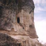 Мангуп. Пещерная церковь в оконечности мыса Тешкли-бурун.