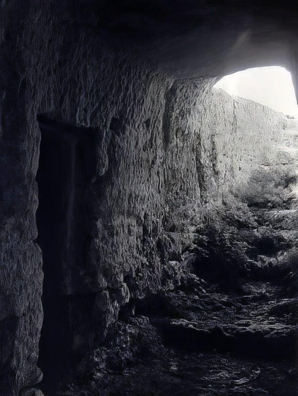Мангуп. Пещерный комплекс №4.