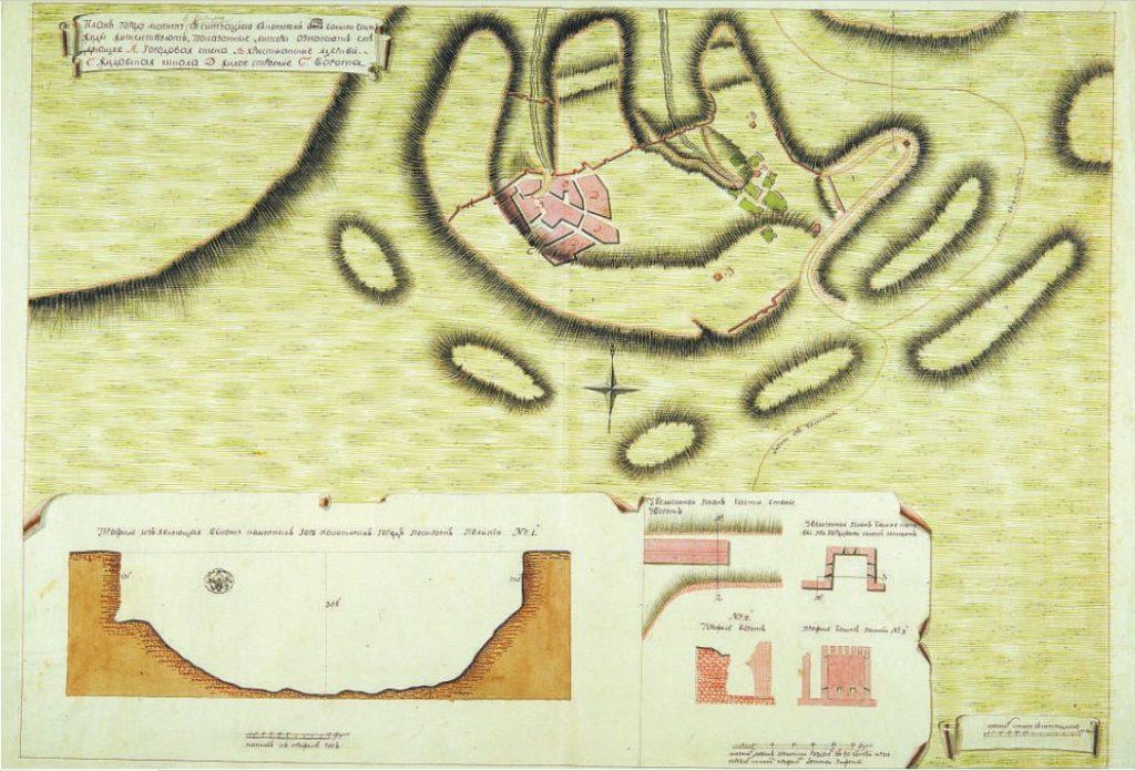 План Мангупа