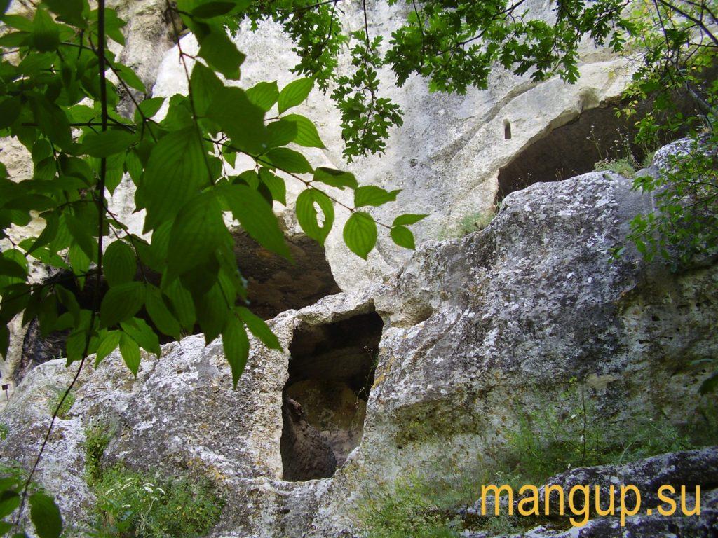 Мангуп. Северный монастырь