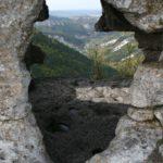 Мыс Тешкли-бурун. Верхняя пещера дозорного комплекса.