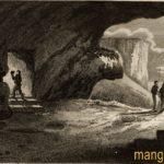 «Мыс Ветров из выдолбленных пещер в высокой крепости Мангуп в Крыму».