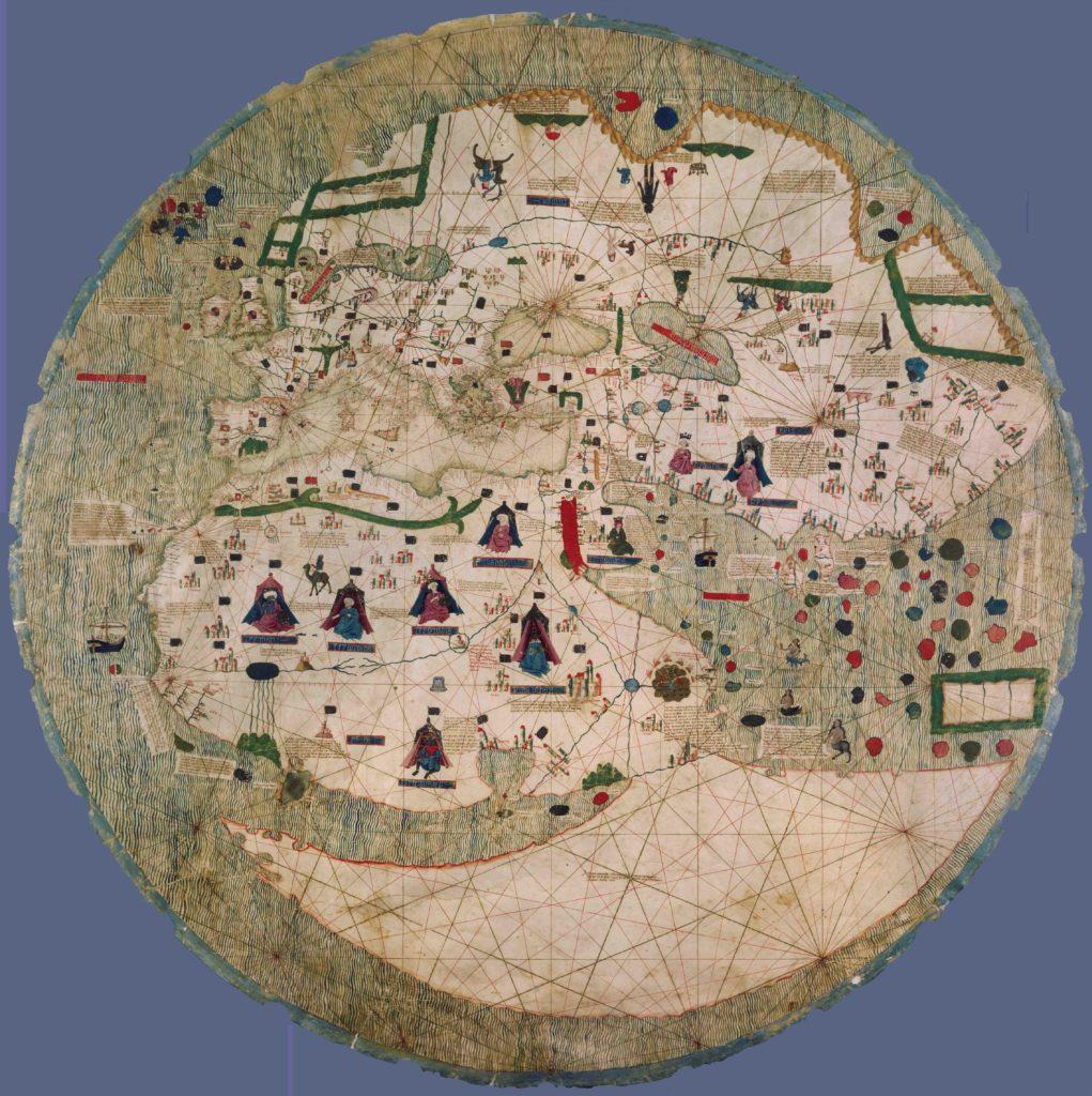 Анонимная каталанская планисфера середины XV века