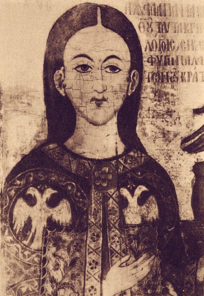 Иоанн Асан. Фрагмент иконы из монастыря Мега-Спилио.