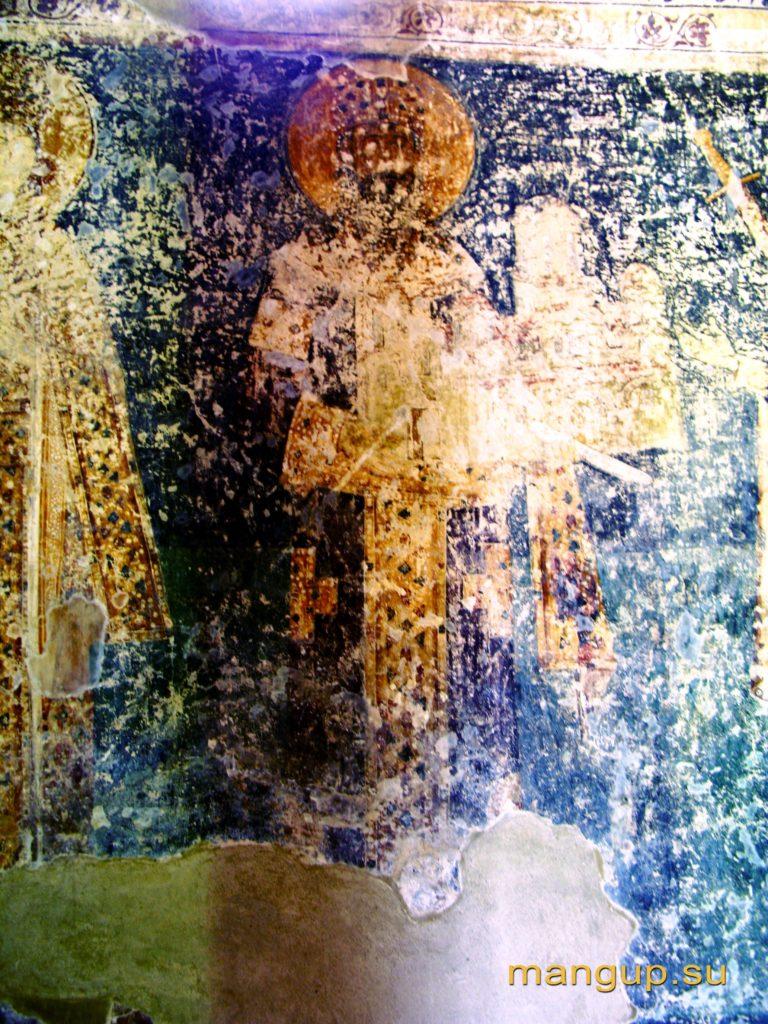 Король Милутин и его жена Симонида. Церковь св. Георгия в Старо Нагоричино (1318).