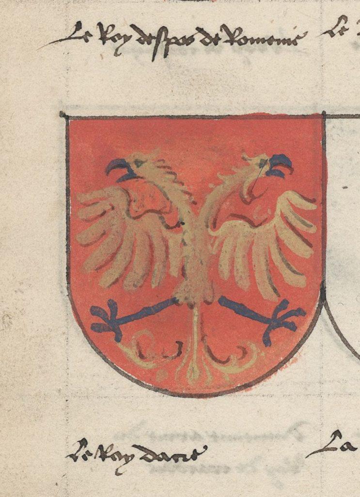 Герб «короля господина Романии»