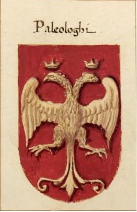Герб Палеологов из гербовника Джакомо Фонтана