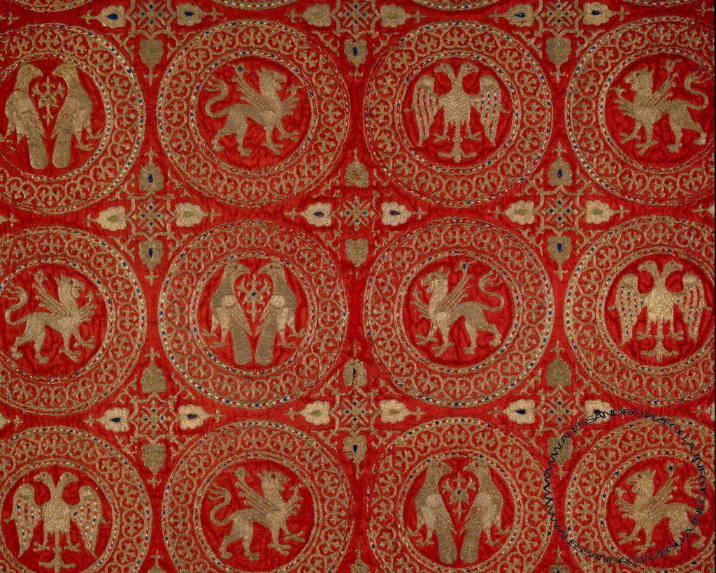 Фрагмент ризы из собора в Ананьи