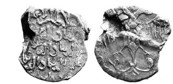 Сельджукская печать времен правления «трех братьев» (1249-1258).