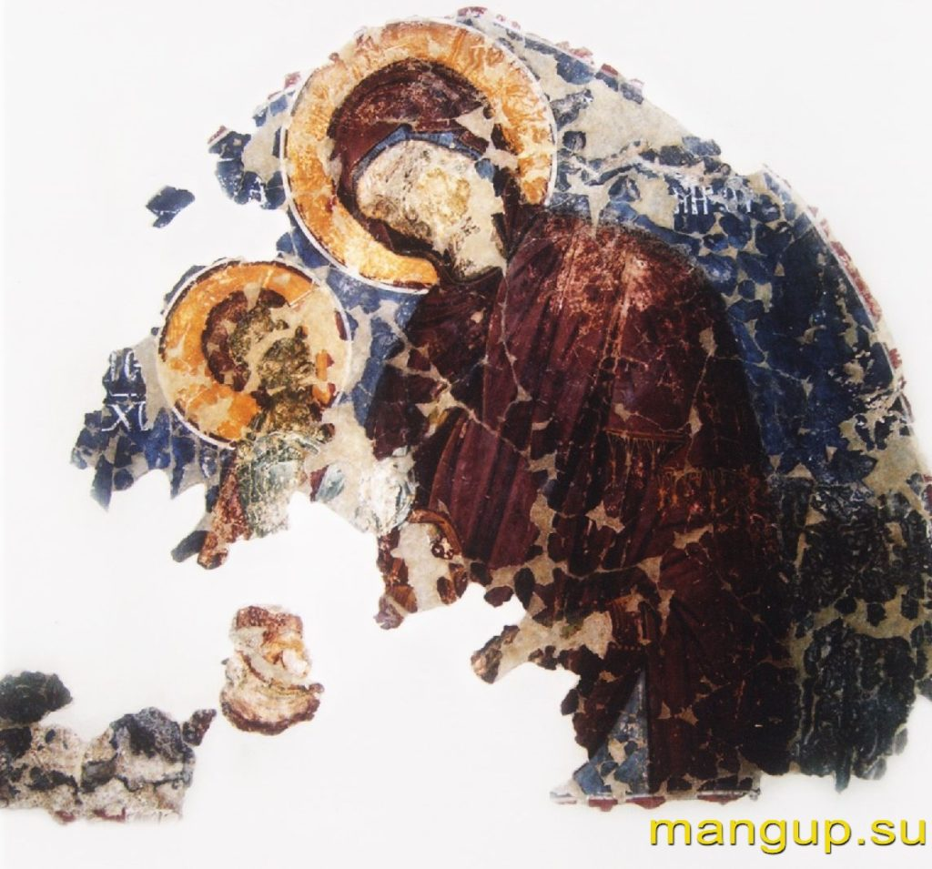 Фреска Богоматери Одигитрии из Чембало