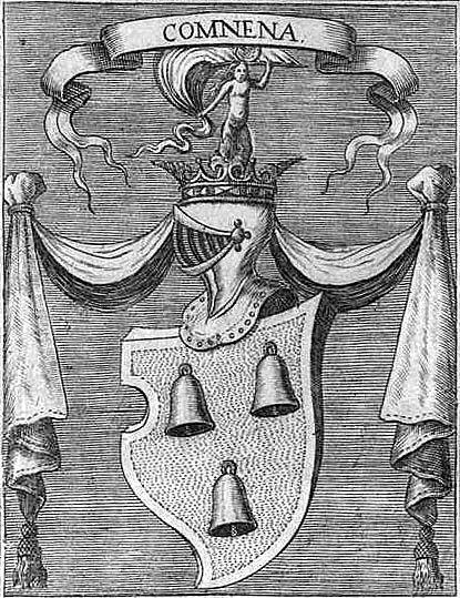 Герб Комнинов согласно Л. Миниати (1663).