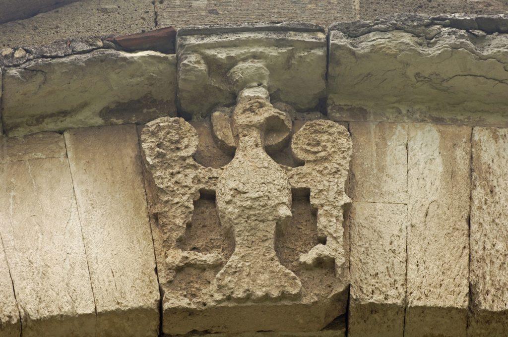 Одноглавый орел в храме св. Софии. Трапезунд (Трабзон).