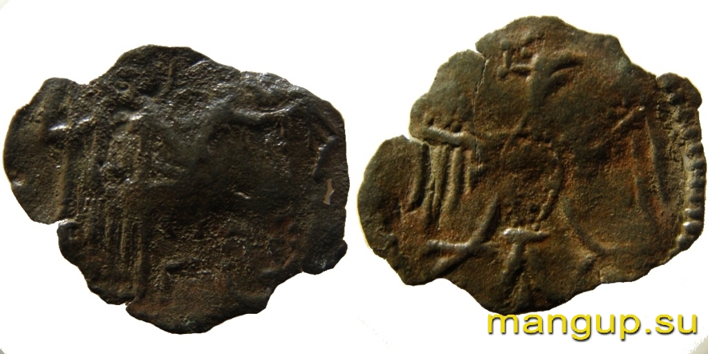Медная монета Иоанна II Великого Комнина