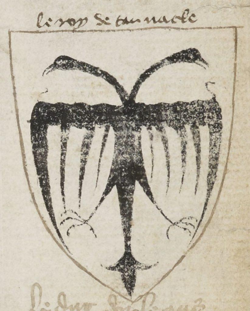 Герб короля Тринакрии