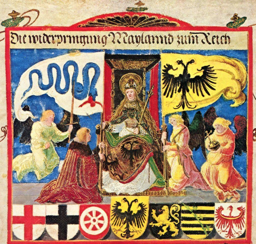 Альбрехт Альтдорфер. Триумф императора Максимилиана Габсбурга, фрагмент (около 1513 года).
