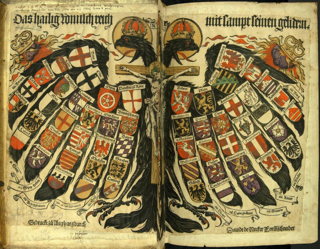 Йост де Негкер. Священная Римская империя и ее члены