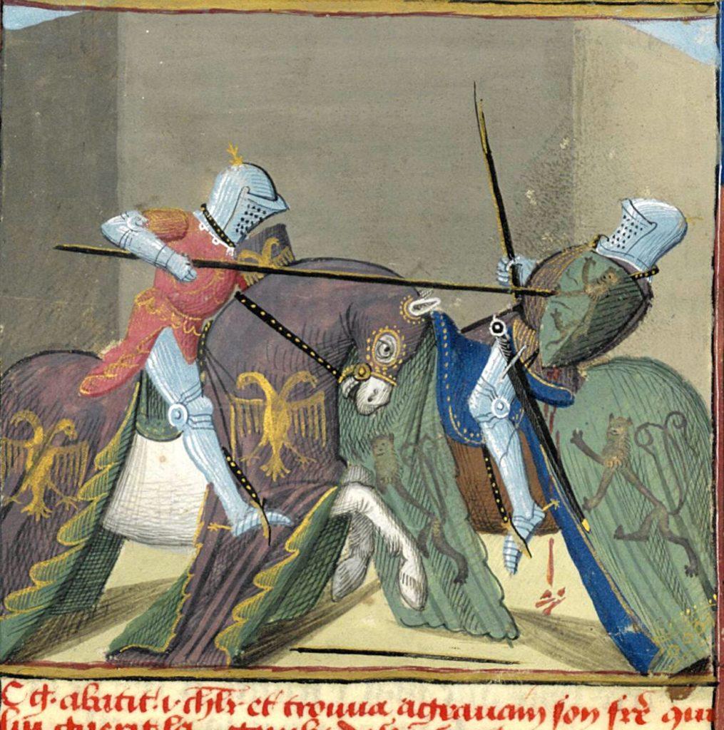 Поединок сэра Гавейна с рыцарем