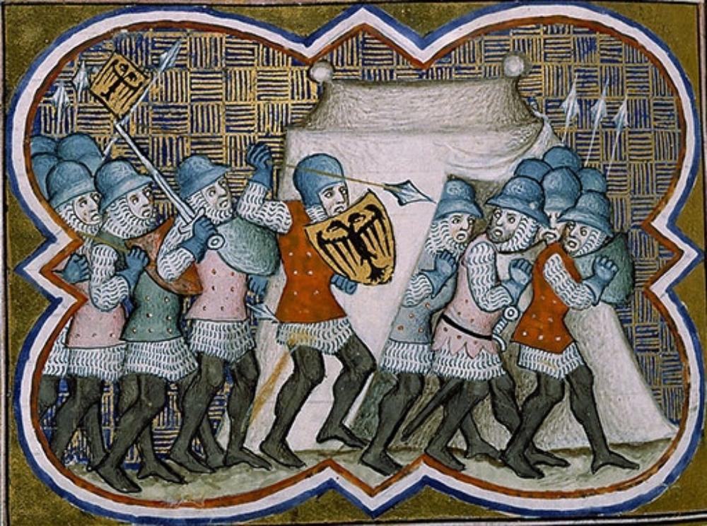 Миниатюра из «Декад по Римской истории».